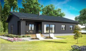 Каркасный дом 150 м²