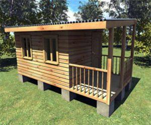 Садовый домик для отдыха